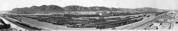 Taylor Yard 1949 Panoramic Photo Poster