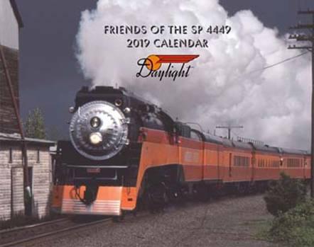 Friends of the SP 4449 2019 Calendar